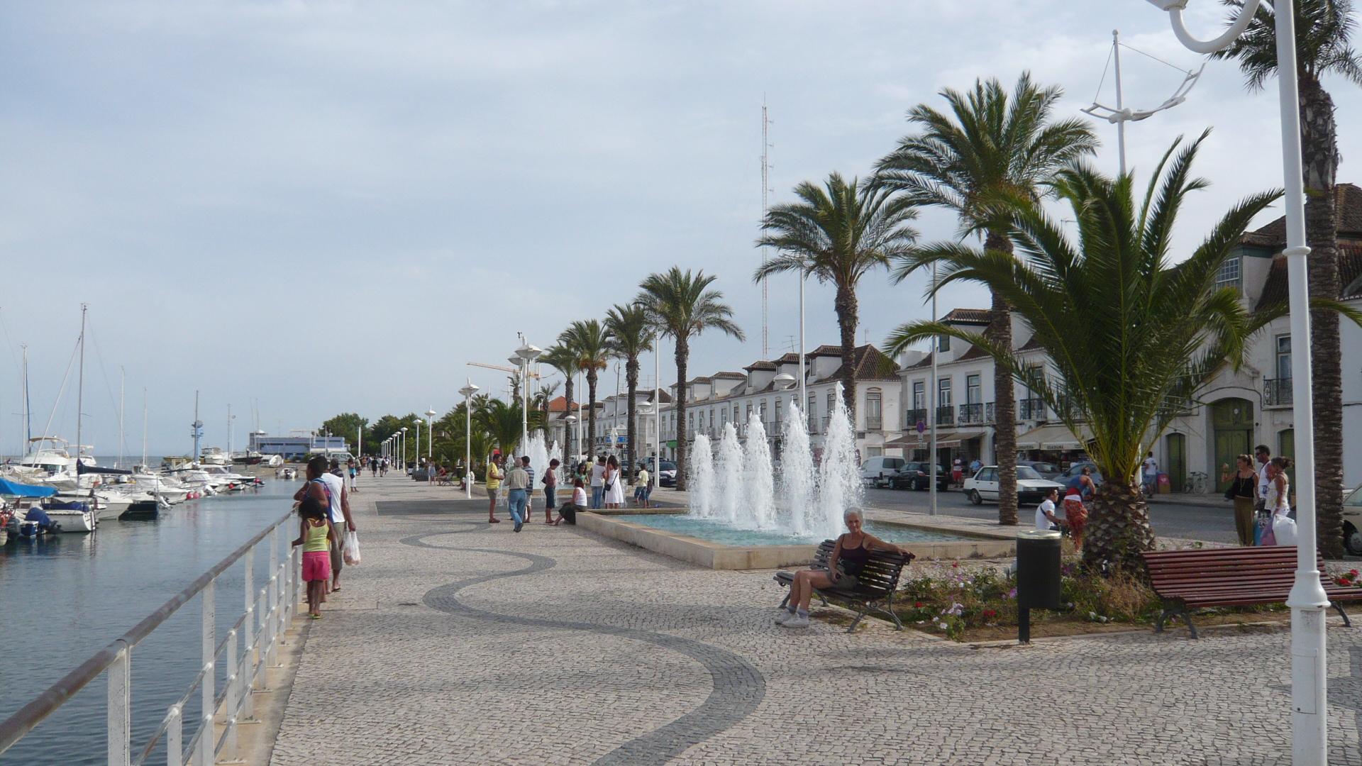 Onnea Portugalissa osa 2/3: Vila Real de Santo Antonio   Palmuasema